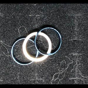 Jewelry - 3 steel rings. Size 6 1/2